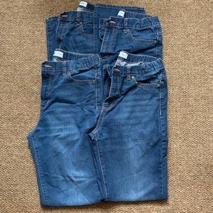 Old Navy 2 pair Boy's Jeans 16 Husky